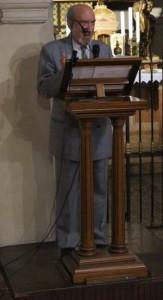 8. L'oratore, prof. Francesco Di Ciaccia