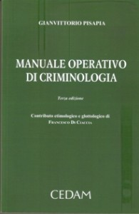Manuale di criminologia