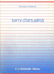 Temi d'attualità, 1987