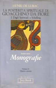 Copertina, De Lubac, Dagli Spirituali a Schelling