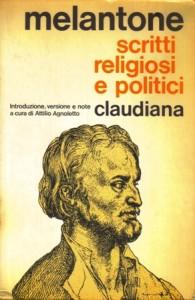 Copertina, Melantone, Scritti