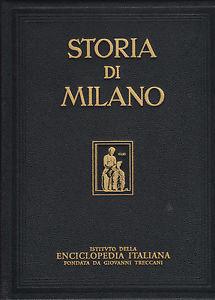 Copertina, Storia di Milano, Treccani