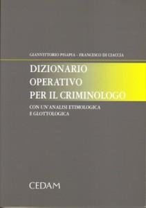 Dizionario operativo. Copertina