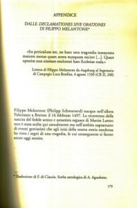 Indicazione di Traduzione, in Agnoletto, Tragoedia