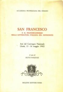 Copertina, Pasquazi (a cura), Franc.Lett.It.Nov., 1982