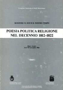 Copertina, Poesia Politica Religione, 1987