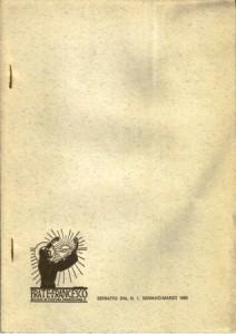 Copertina, Ulivi, 1985