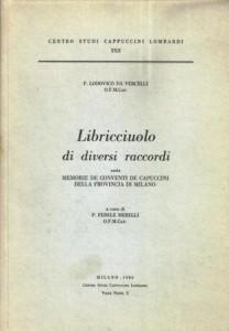 Copertina, da Vercelli, Libricciuolo, 1985