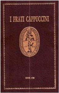 Copertina, Cargnoni, a cura, I Frati Cappuccini, 1984-1986
