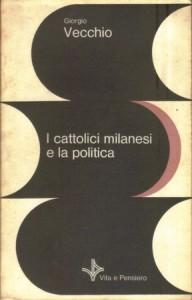 Copertina, Giorgio, I cattolici milanesi, 1982