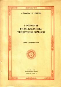 Copertina, Mosconi-Lorenzi, Conventi nel Comasco, 1983