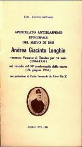 Copertina, Salmaso, Giacinto Longhin, 1986