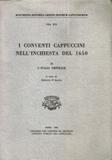 Copertina, d'Alatri, Conventi, 2