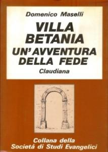 Copertina, Maselli, Villa Betania, 1989